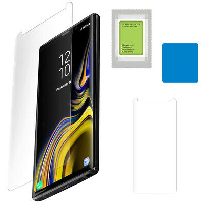 For Samsung Galaxy Note 9 Poetic【HD Clear】Tempered Glass Screen Protector Clear