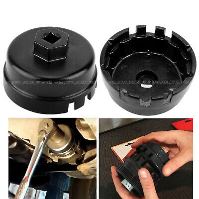 64MM 14Flute Oil Filter Cap Wrench Tool For Toyota Lexus Scion 2.5L-5.7L Engines
