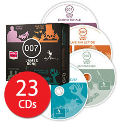 James Bond 007 Audio Book Collection - 23 CDs