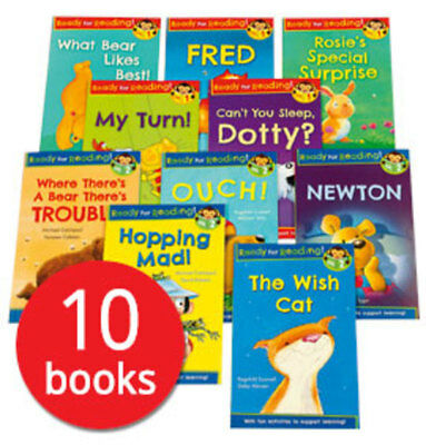 Ready for Reading Collection - 10 Books