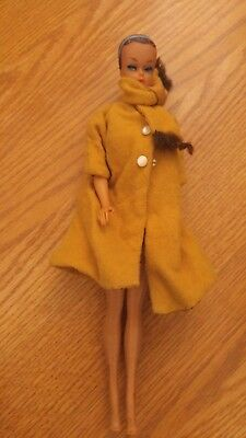 VINTAGE Rare 1958 Barbie 1962 Midge # 6 Fashion Queen Doll Wig Mattel Japan