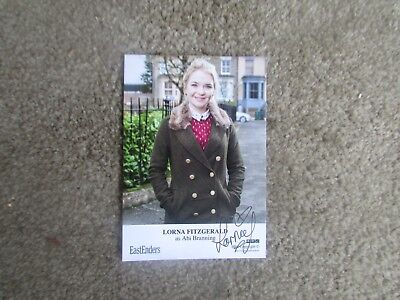 Lorna Fitzgerald (Eastenders) Signed Cast Card