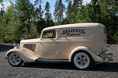 1934 Ford Sedan Delivery  Genuine rare Sedan delivery in resto rod style