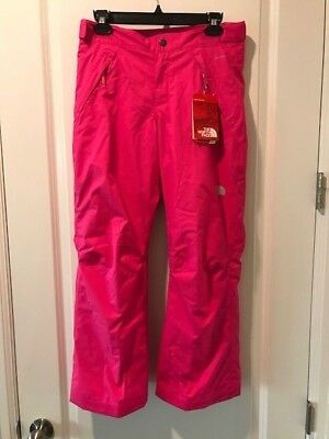 074e114c8 THE NORTH FACE $99 Girls Freedom Insulated Snow Pants - Gem Pink XL ...