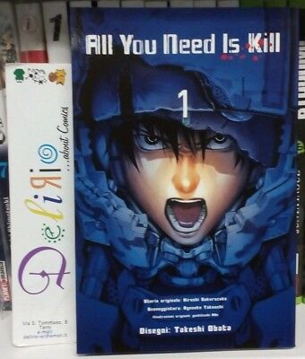 ALL YOU NEED IS KILL N.1 Ed. PLANET MANGA SCONTO 10%