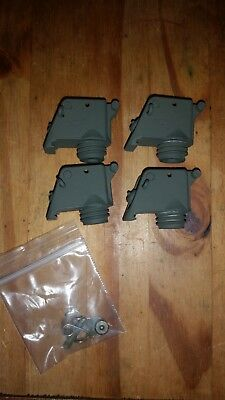 4ea. Trip wire/perimeter alarm, painted GREEN, prepper, paintball,camping