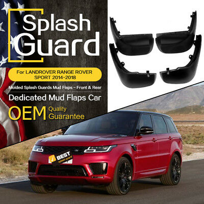 Quality Front Pair Mud Flaps Stone Guard Damage Protection For Rover