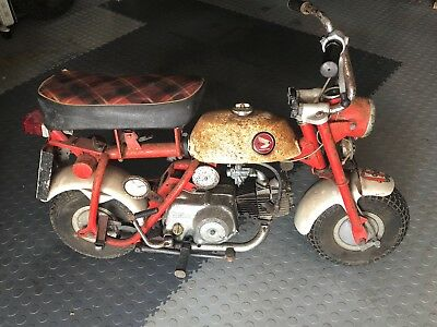Honda Z50m Monkey Bike 1967 - Original & Unrestored - One Owner & just 617 miles