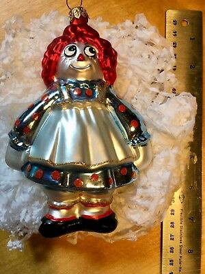 Polonaise Kurt S. Adler Raggedy Ann Collection Ornament Christmas Decorations
