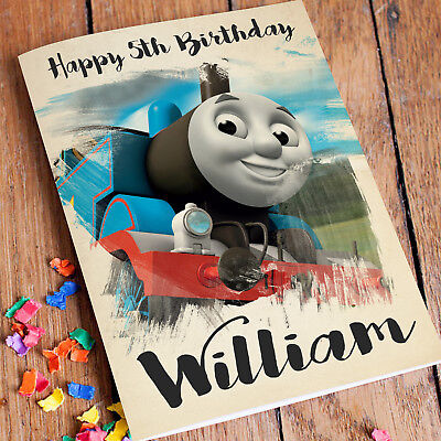 Best Thomas And Friends Personalised Birthday Card Image Collection