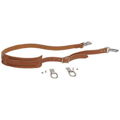 KLEIN TOOLS Leather Tool Bag Shoulder Strap Kit for 5102 & 5, 5102S, Brown