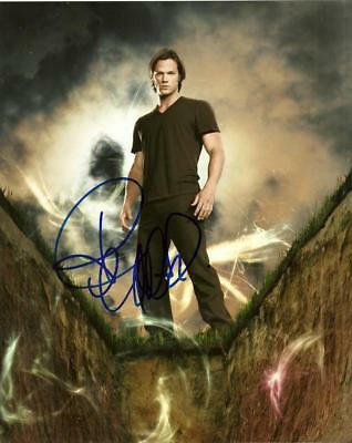 Jared Padalecki  8 By 10 Inch Full Gloss Signed Picture  C.o.a.