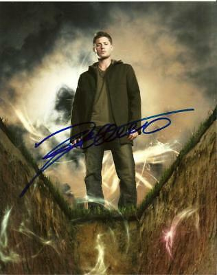 Jensen Ackles    8 By 10 Inch Full Gloss Signed Picture  C.o.a.