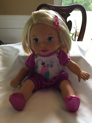 My Mommy Talk With Me Repeating Doll,EUC