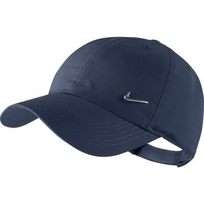 0cdba038f54 Nike Hat Cap Navy New Fit Adjustable Golf Swoosh Dri Unisex Baseball  Strapback