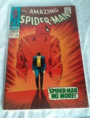 Amazing Spider-Man #50 - 1st Kingpin - Marvel Comics (1967) - Fine