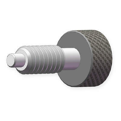 INNOVATIVE COMPONENTS Stainless Steel Metal Knob Plunger,1/2-13, GP8C--SM--L--70