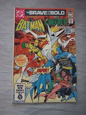 Brave and the Bold #178 Batman & the Creeper DC 1981 vg P&P Discounts