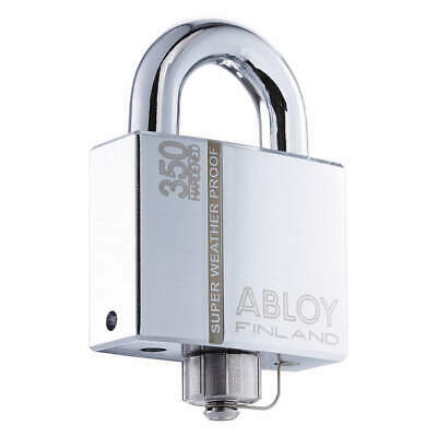 "ABLOY Keyed Padlock,Different,2-53/64""W, PLM350/50B-KD"