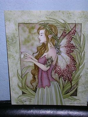 Amy Brown - Serenity - SIGNED - OUT OF PRINT