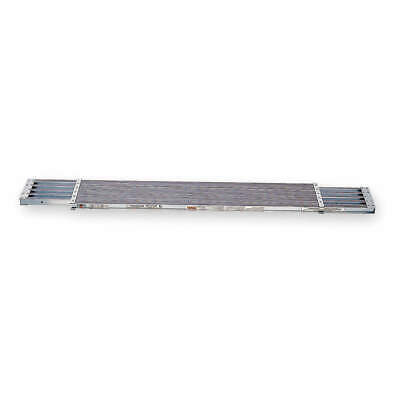 WERNER Aluminum Extension Plank,10 ft. L,2 In. H, PA210