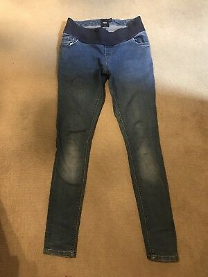 maternity jeans size 8 ASOS