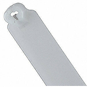TY-RAP(R) Nylon 6/6 Cable Tie,With Tag,14.2in,Natural,PK1000, TY48M