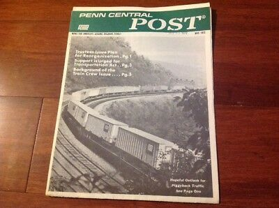 May 1972 Penn Central Post Employee Magazine
