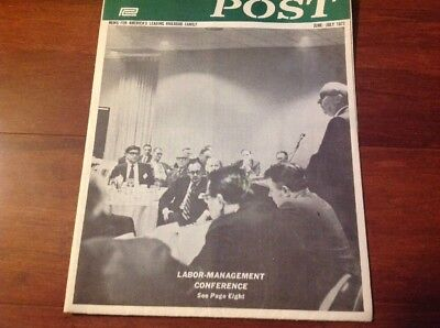 June-July 1972 Penn Central Post Employee Magazine