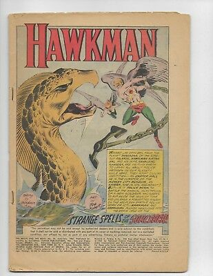 Brave And The Bold 36 - Coverless 0.3 - 3Rd Appearance Of Hawkman (1961)