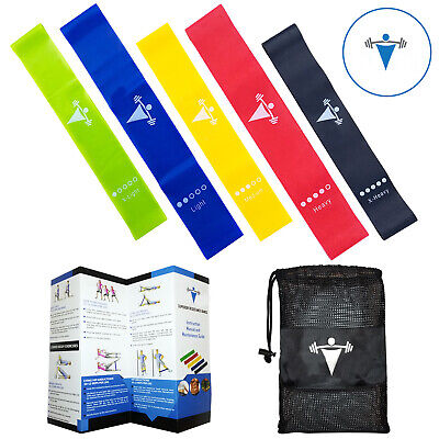Speed Agility Training Performance Resistance Workout CrossFit Loop Bands Set