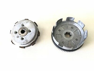 93 1993 Honda XR100R Clutch Assembly Basket Hub Boss Springs Discs Plates