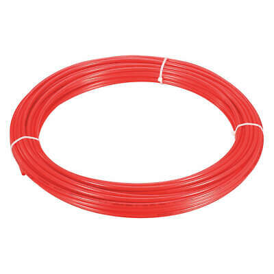 "GRAINGER APPROVED Tubing,1/4"" OD,Nylon,Red,50 Ft, 2VDU3"
