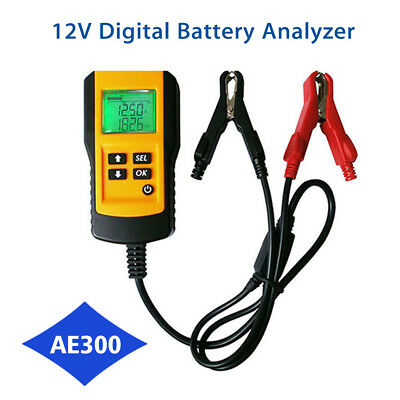 Digital 12V Car Battery Tester Automotive Battery Tester Analyzer LCD Display