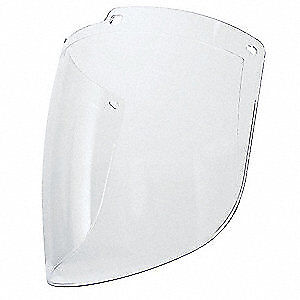 HONEYWELL UVEX Faceshield Visor,Uncoated Polycarbonate, S9550