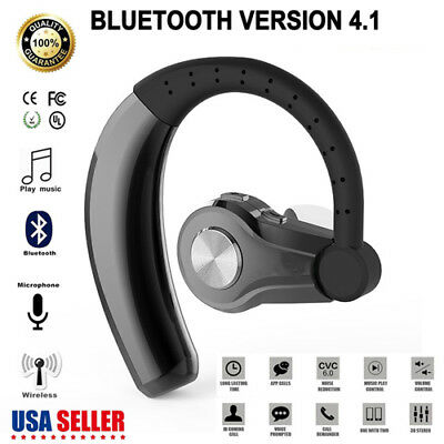 Wireless Bluetooth 4.1 Headset Stereo Headphone Earphone For IPhone Samsung HTC