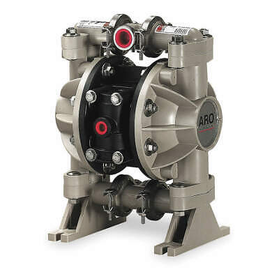 ARO Double Diaphragm Pump,Air Operated,150F, 666053-344