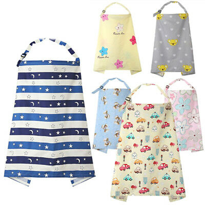 Breathable Baby Feeding Nursing Covers Breastfeeding Nursing Poncho Cover Up TH