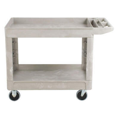RUBBERMAID COMMERCIAL PRODUCTS Utility Cart,500 lb. Load Cap., FG450089BEIG