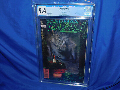 DC Vertigo SANDMAN #75 2ND PRINTING CGC 9.4 NM  VERY RARE! Second Print