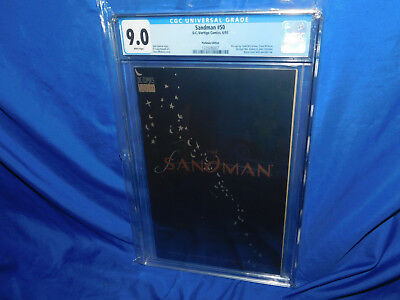 Sandman #50 Platinum Edition CGC 9.0 Modern DC Comic Todd Mcfarlane Pin-Up