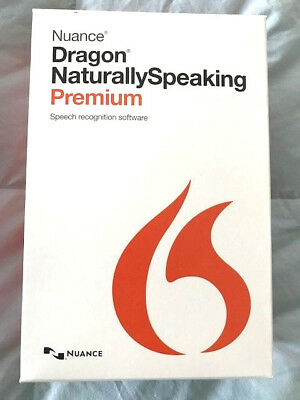 Voice to text Software Nuance Dragon NaturallySpeaking PC K409AG00130 Version13