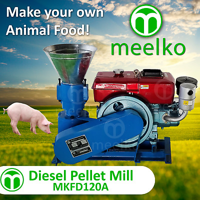 PELLET MILL 8 HP DIESEL ENGINE PELLET ship to your door in Colorado
