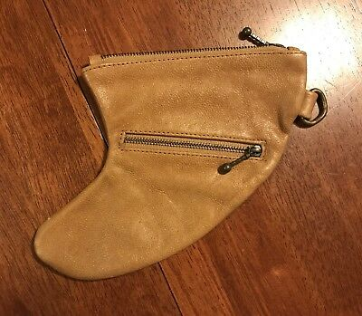 Genuine Leather Surf Fin Pouch