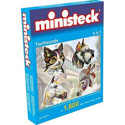 Ministeck Tierfreunde 4-in-1, 1600 Teile