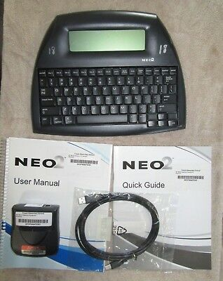 Neo2 Alphasmart Word Processer Keyboard By Renaissance Learning Complete