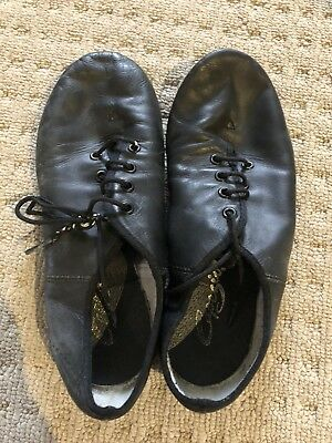 Black jazz shoes Size 1