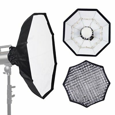 70cm WHITE Portable Honeycomb Grid Beauty Dish fr Hensel Studio Strobe Flash