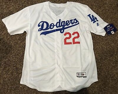 Los Angeles Dodgers Kershaw MLB Flex Base Jersey 2x