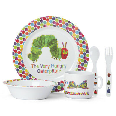 NEW Macdonald Very Hungry Caterpillar Dinner Set 5pce